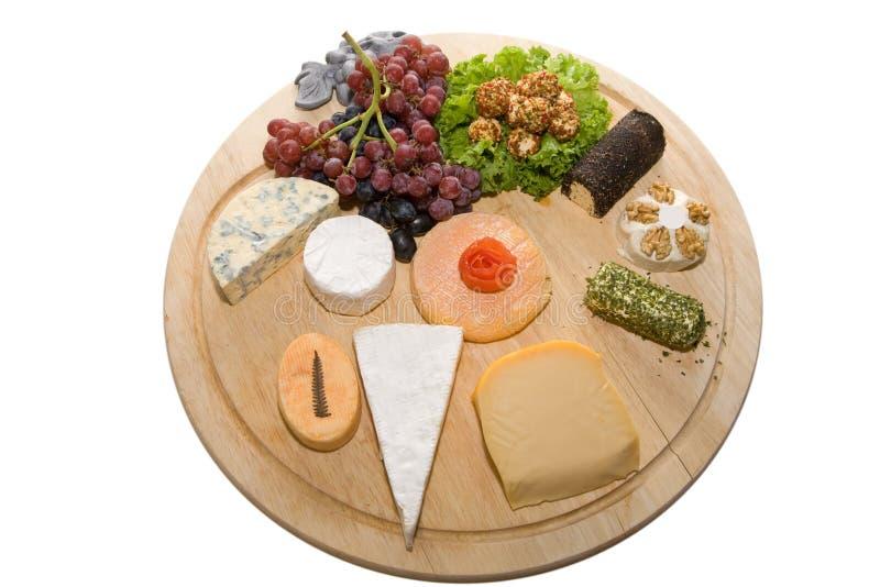 Disco del queso foto de archivo libre de regalías