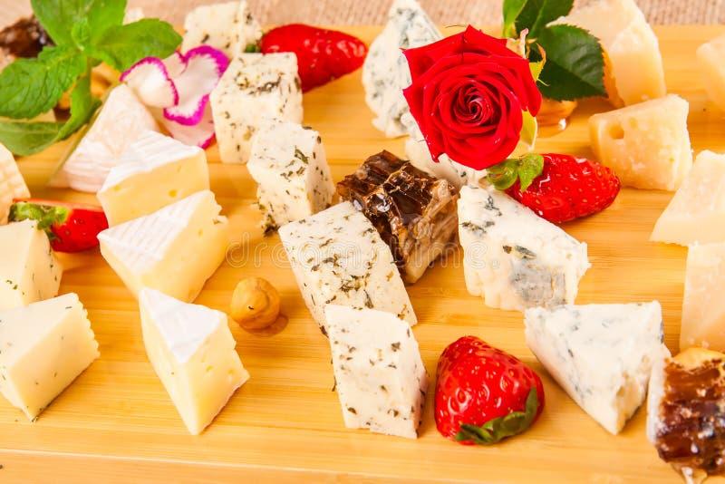 Disco del queso Cierre para arriba imagen de archivo libre de regalías