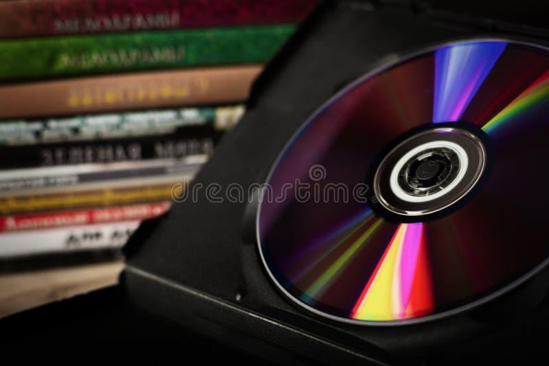 Disco di DVD fotografie stock