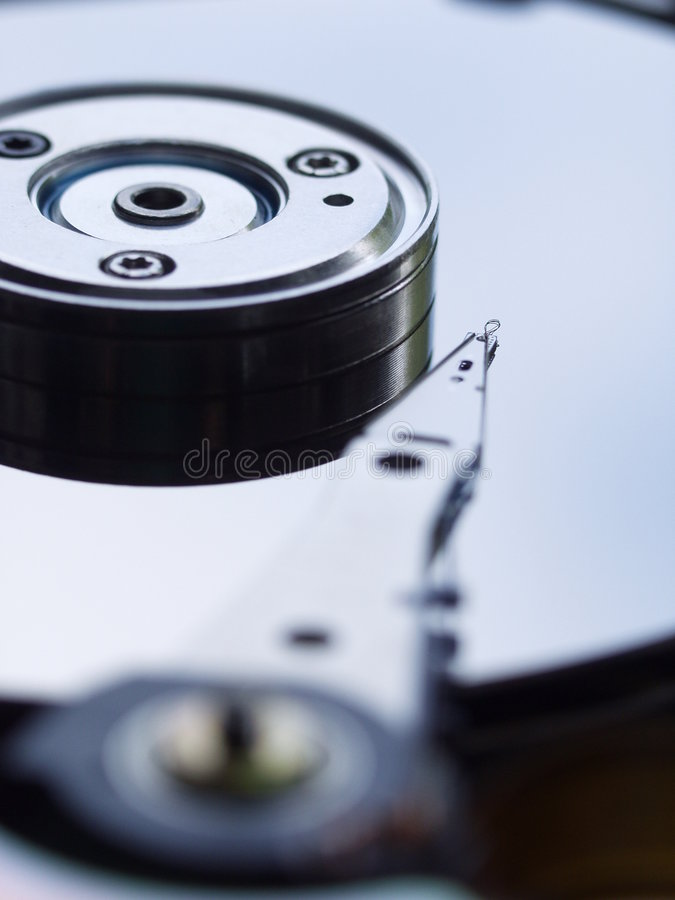 Disco di memoria di dati fotografia stock libera da diritti