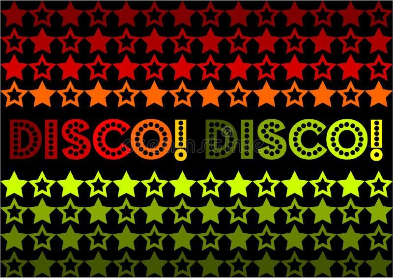Disco! Disco! vektor abbildung
