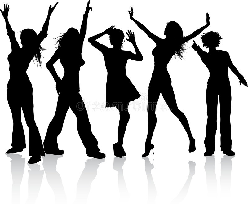 Download Disco divas stock vector. Image of dancing, diva, dancers - 9017764