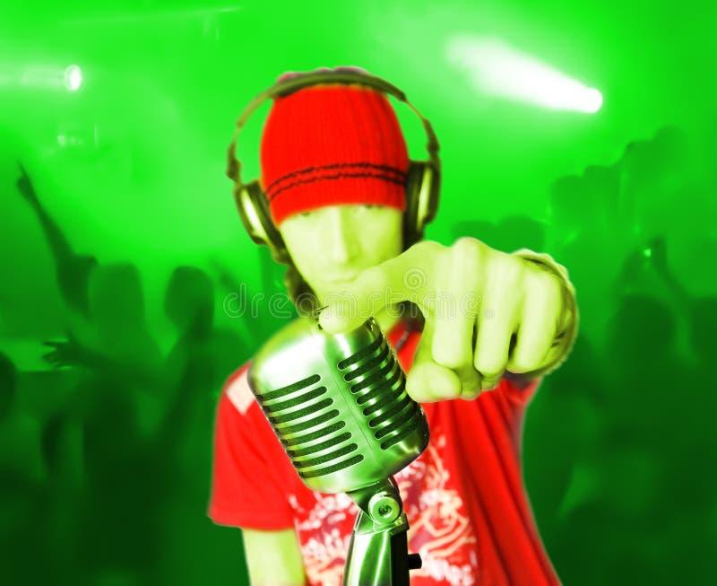 Disco DJ-3 royalty free stock image