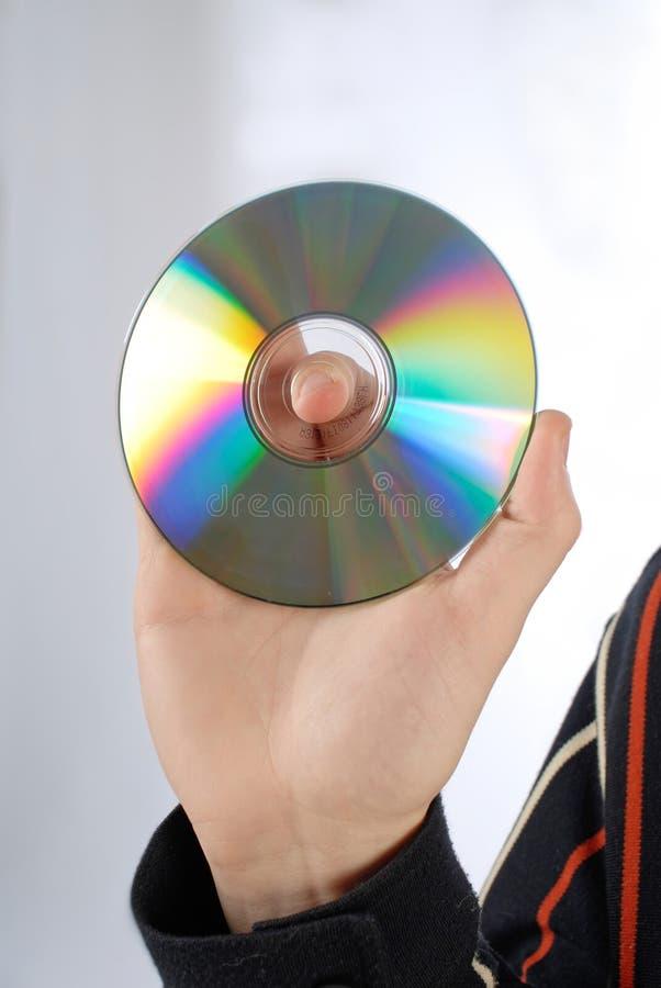 Disco do CD ou do DVD imagens de stock royalty free