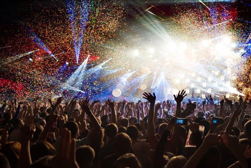 Disco do partido do concerto imagens de stock