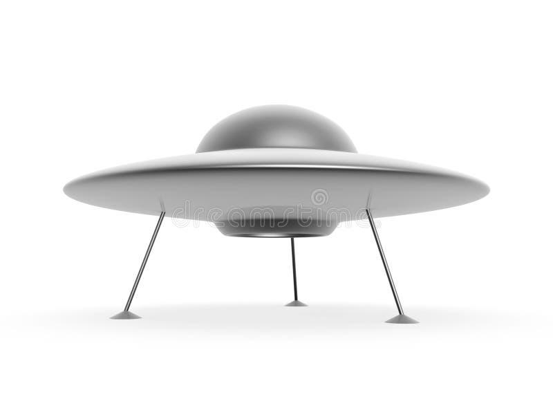 Disco do UFO ilustração royalty free