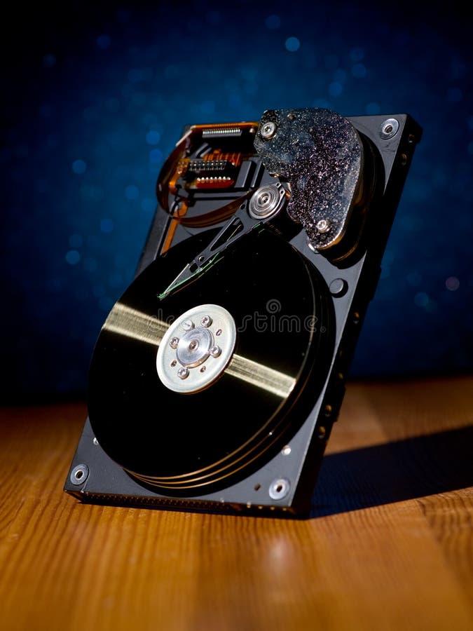 Disco duro imagem de stock