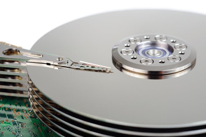 Disco duro de los datos foto de archivo