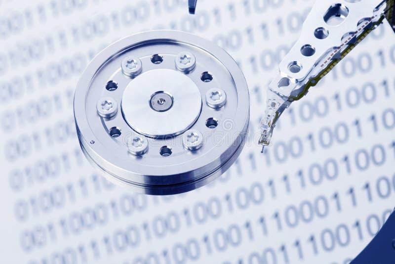 Disco duro de un ordenador foto de archivo libre de regalías
