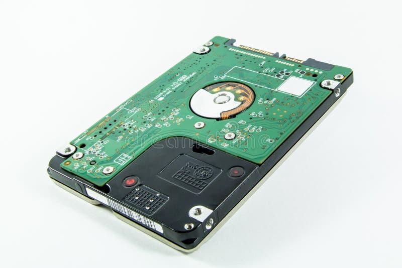 Disco duro del ordenador portátil imagen de archivo libre de regalías