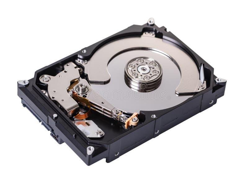 Disco duro desmontado del ordenador imagen de archivo libre de regalías