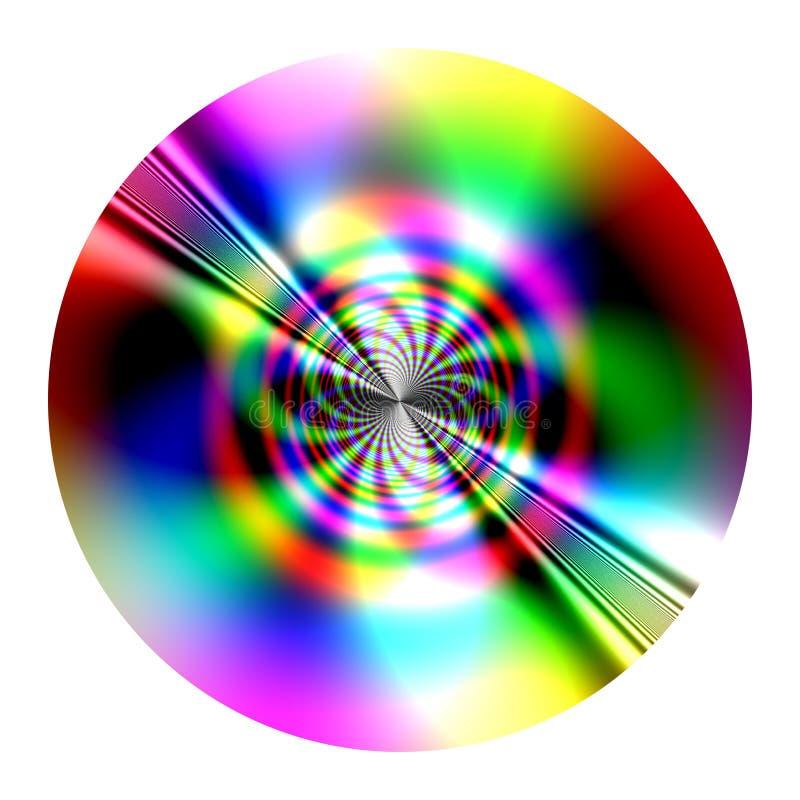 Disco - fractal imagen de archivo libre de regalías
