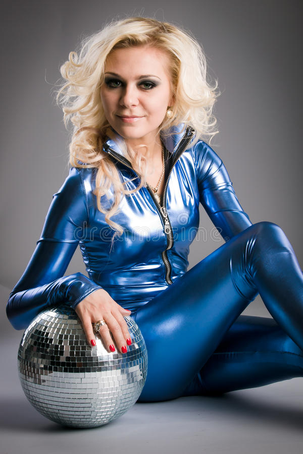 Download Disco girl stock image. Image of hairdo, beauty, disco - 17730025