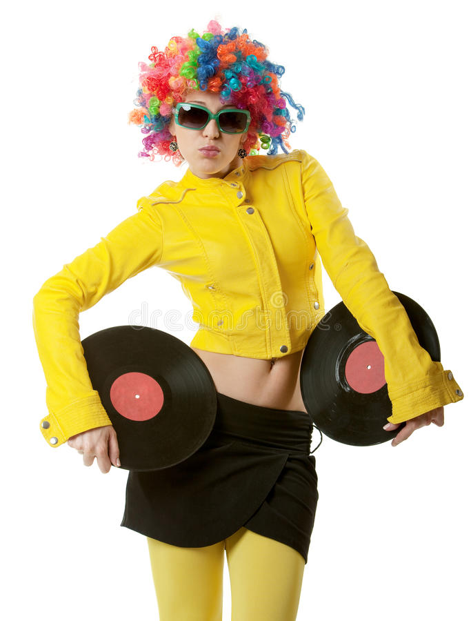 Free Disco Girl Stock Images - 19230934