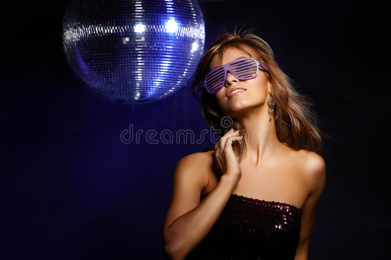 Download Disco girl stock photo. Image of lounge, discotheque - 22415490