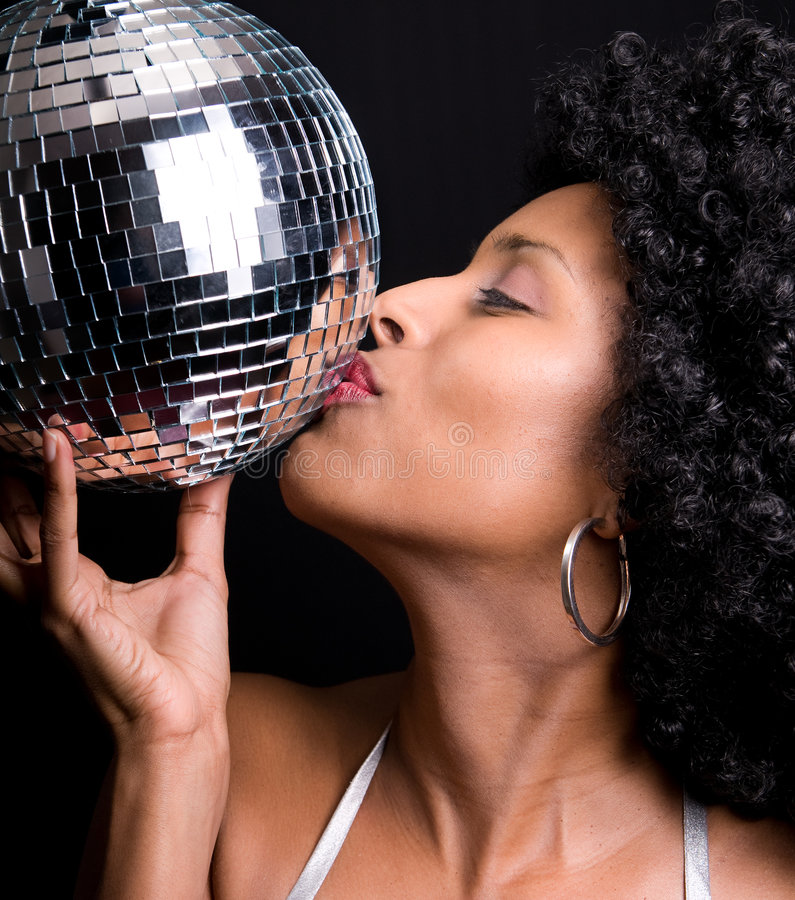 Free Disco Girl Stock Images - 8153854