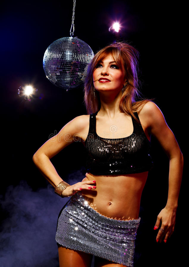 Download Disco girl stock photo. Image of bling, brilliance, discotheque - 30430874