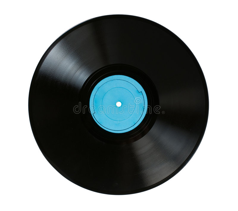 Disco grammofonico immagini stock