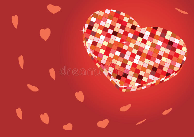 Download Disco Heart Royalty Free Stock Photography - Image: 12742397