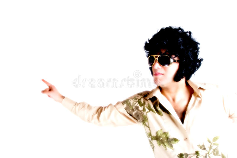 Disco High key royalty free stock images