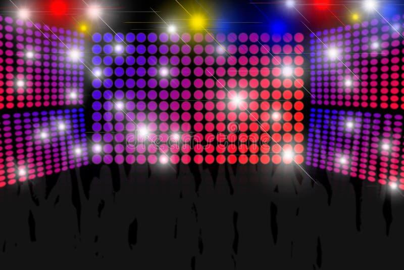 Disco-Hintergrund lizenzfreie stockfotografie