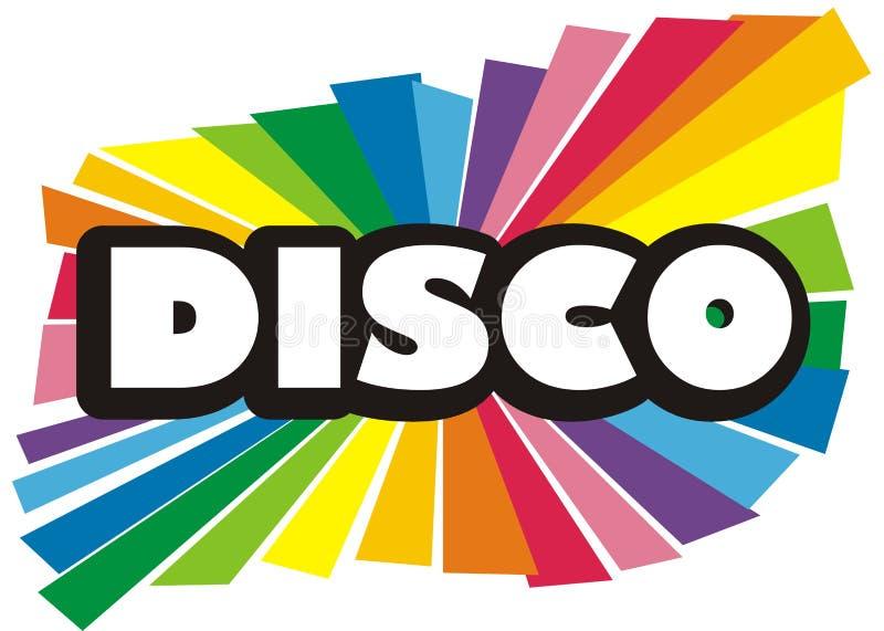 Disco illustration royalty free illustration