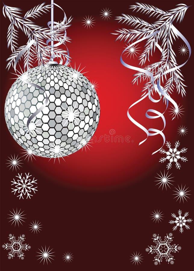 Download Disco im neuen Jahr vektor abbildung. Illustration von fröhlich - 12202339
