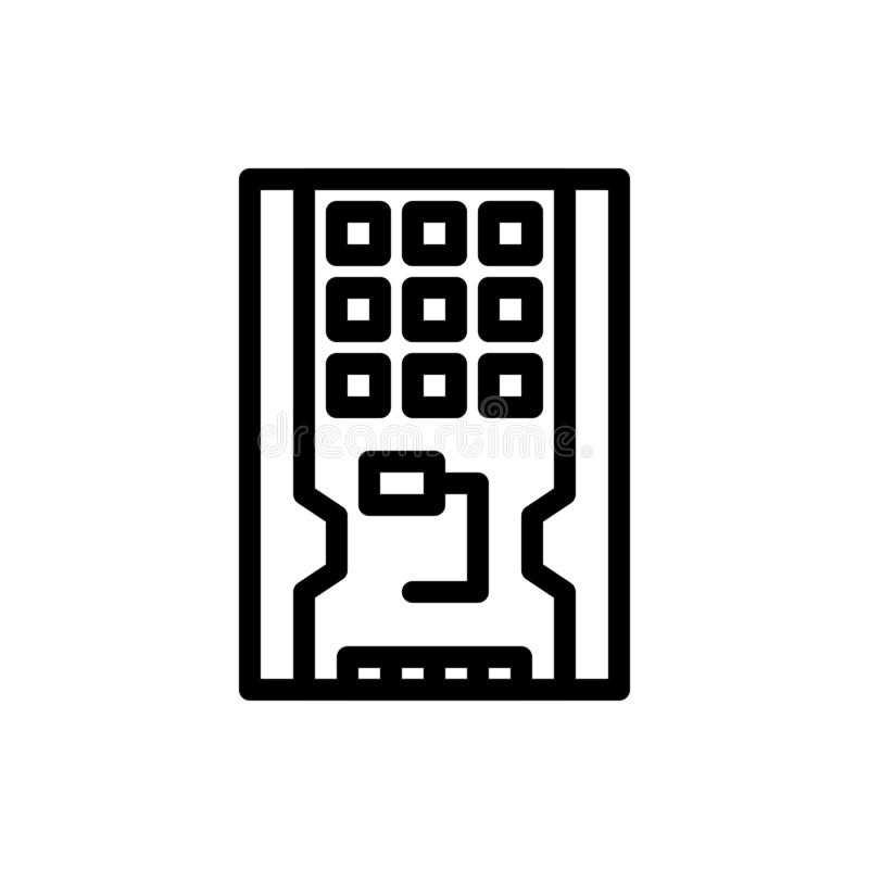 Disco, impulsión, hardware, sólido, azul del SSD y transferencia directa roja y ahora comprar la plantilla de la tarjeta del apar libre illustration