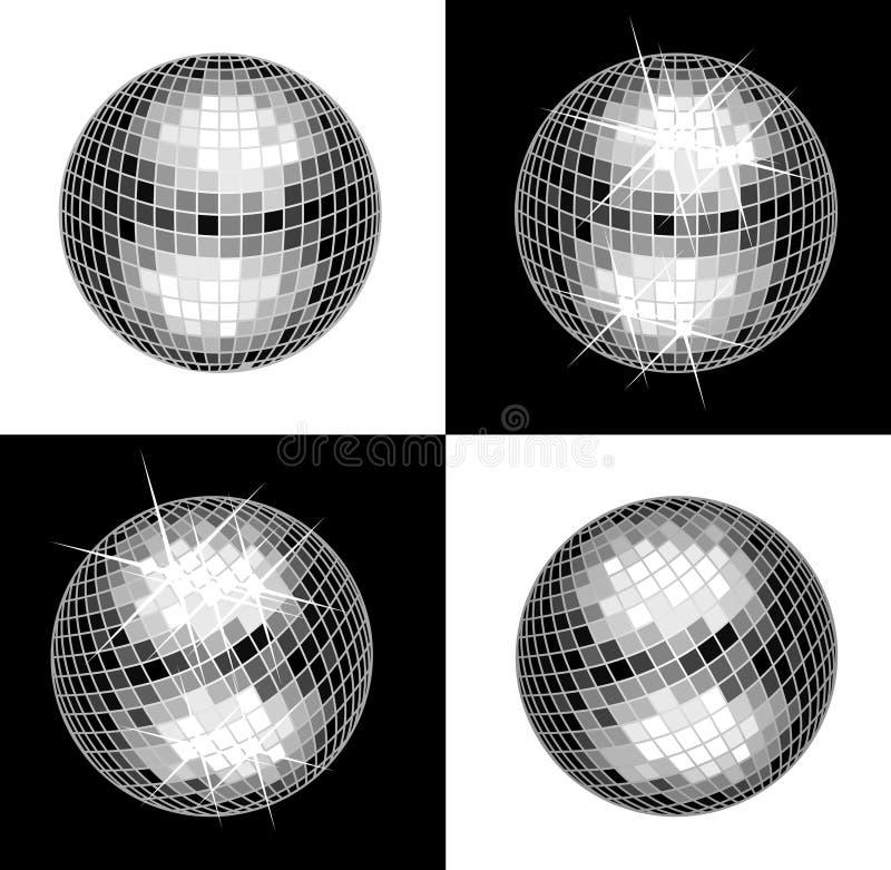 Disco-Kugel vektor abbildung