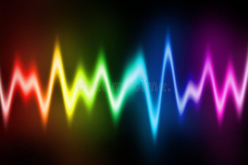 Disco Light Diagram stock image