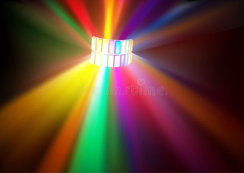 Download Disco Lights stock vector. Image of beams, nightlife - 21267028