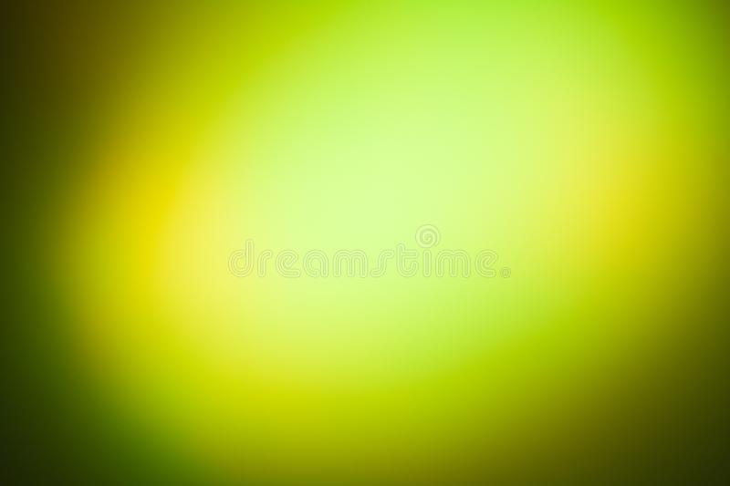 Disco lights effect in green and yellow color royalty free stock images
