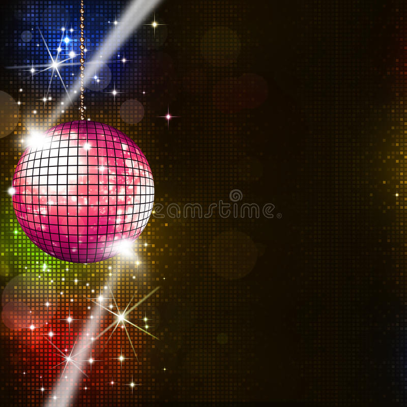 Download Disco Lights Music Background Stock Illustration - Image: 38747167