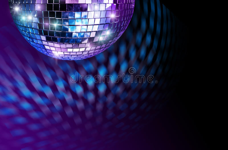 Disco mirror ball royalty free stock photo