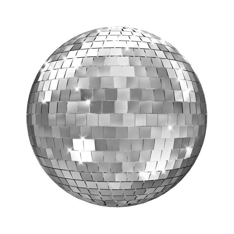 Disco mirror ball royalty free illustration