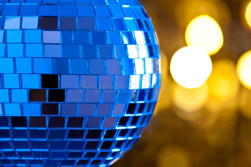 Download Disco Mirror sphere stock photo. Image of gold, blue - 25874634