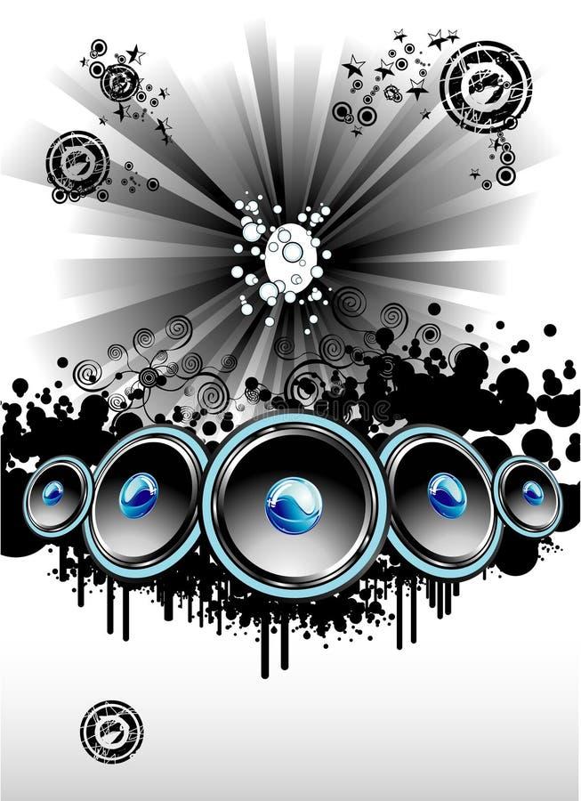 Disco Music Event Background stock photos