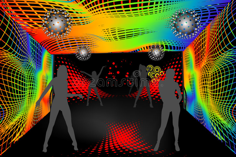 Disco party royalty free stock photography