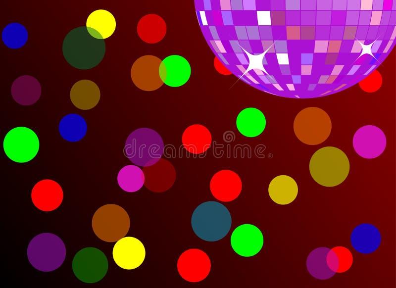 Disco-/Partyhintergrund (Vektor) vektor abbildung