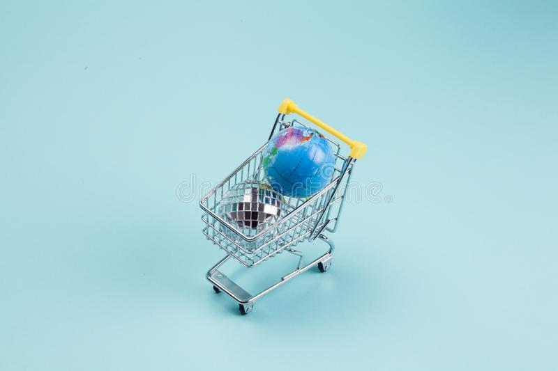 Disco planet earth for sale stock images