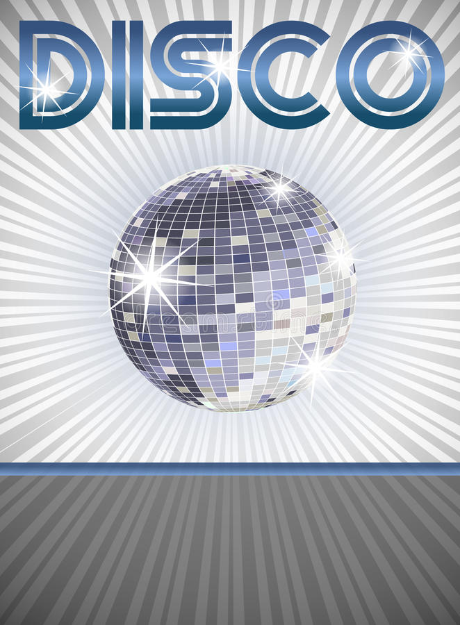 Download Disco poster stock vector. Image of ball, concept, club - 18035200