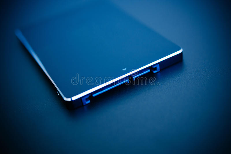 Disco rápido do SSD fotos de stock royalty free