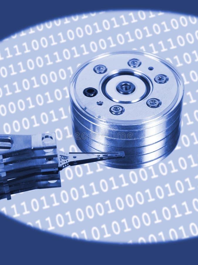 Disco rígido do computador fotografia de stock
