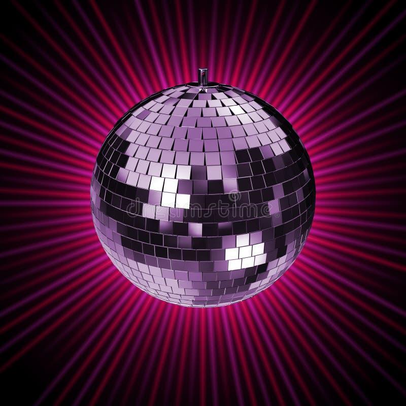 Disco Rays C stock illustration