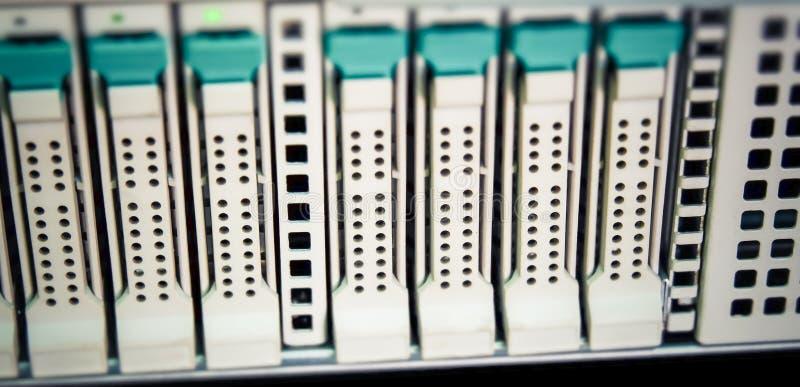 Disco rigido del server fotografia stock libera da diritti