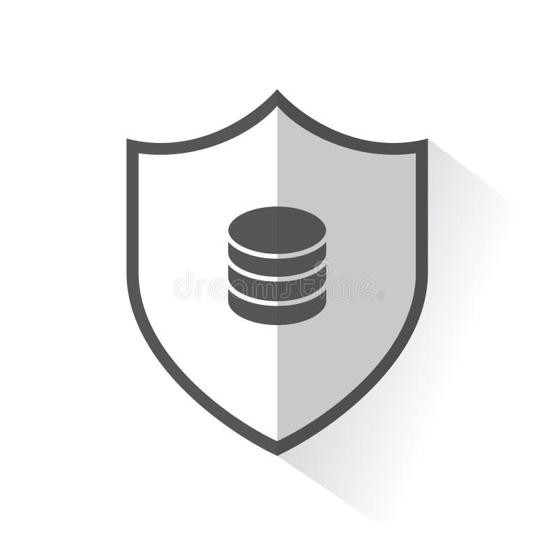 Disco rigido dell'icona dello schermo illustrazione di stock