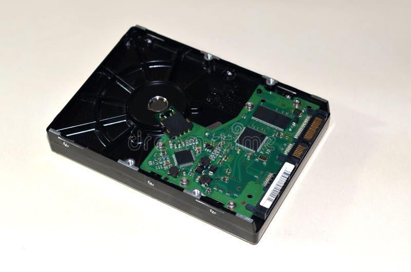 Disco rigido HDD del computer immagini stock libere da diritti