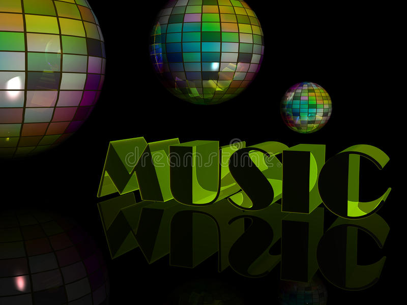 Download Disco scene stock illustration. Illustration of color - 16775167