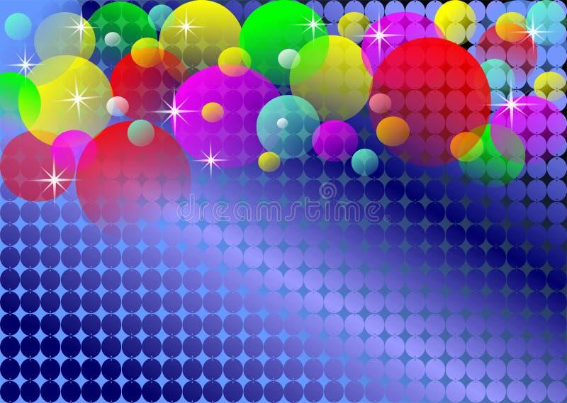 disco tła światła royalty ilustracja