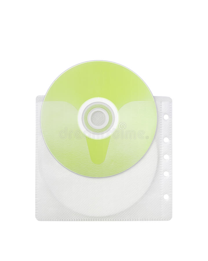 Disco verde fotografia stock libera da diritti